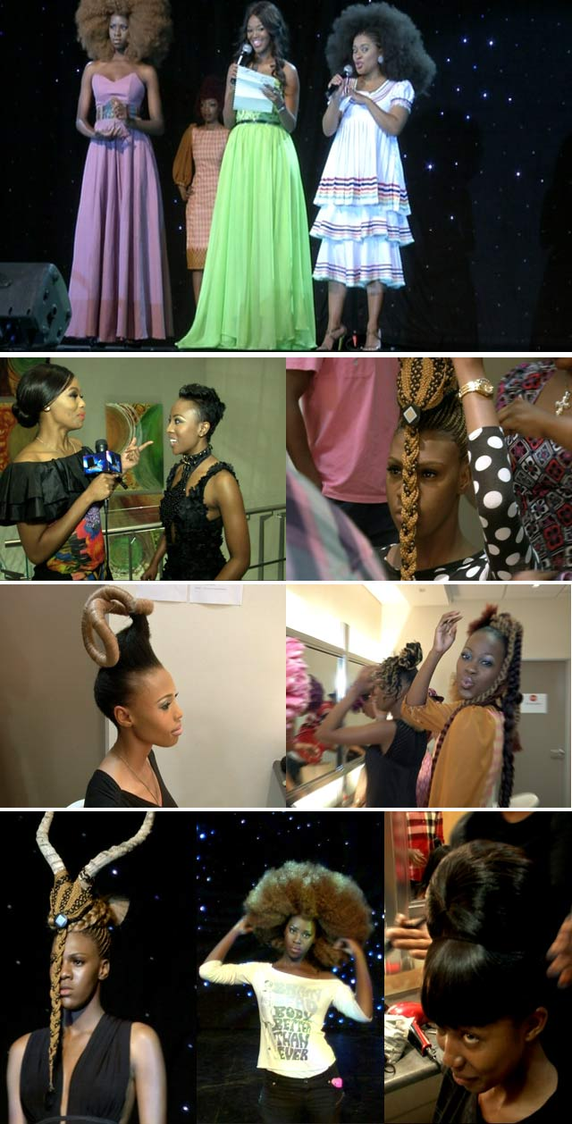 Top Billing attends the African International Hair Awards
